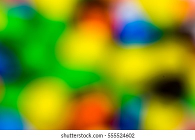 Bokeh of candy