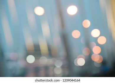 Bokeh of the city view on night. Abstract Background.