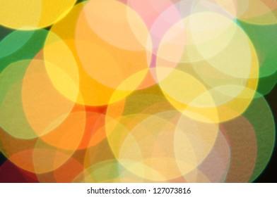 bokeh color background.