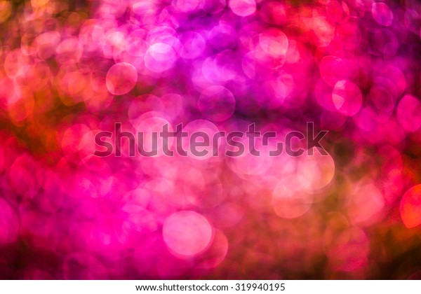 Bokeh colorful new year background.