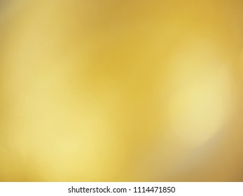 Bokeh of gold background or texture