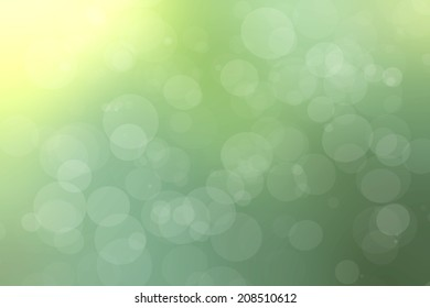bokeh green colorful light background