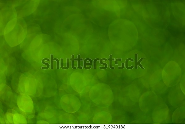 Bokeh green nature background.