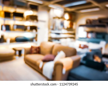 Bokeh Home Interior Background