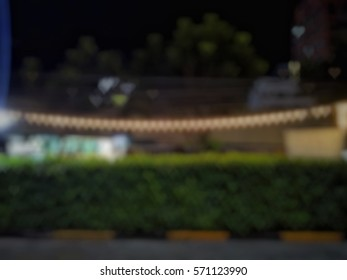 Bokeh is Japanese meaning blurry or out of focus. In the photograph, the bokeh is referring to the glittering outside DOF.