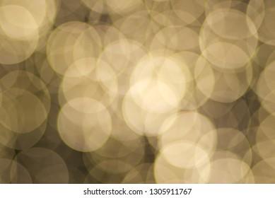 Bokeh of light decorate.