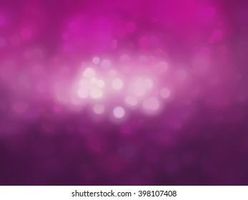 Bokeh light, shimmering blur spot lights on pink.