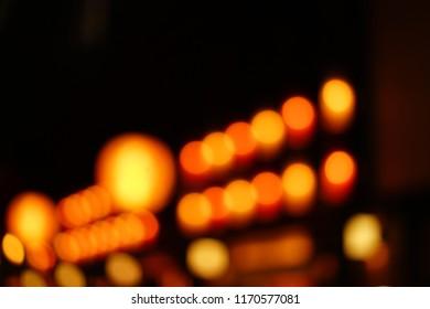 Bokeh lights of Lantern