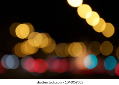 bokeh ligths abstract