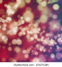 Bokeh on grungy pink and purple background