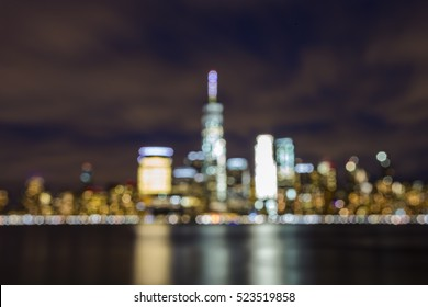 Bokeh photo in New York City