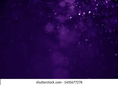 Bokeh purple proton background abstract - image