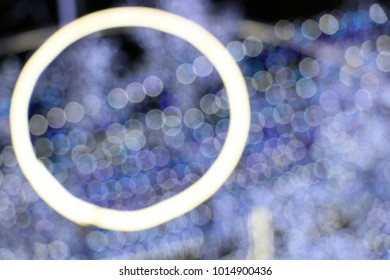 bokeh sparkle lights background, out of focus at night