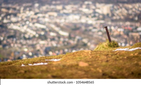 Bokeh Town from a hill