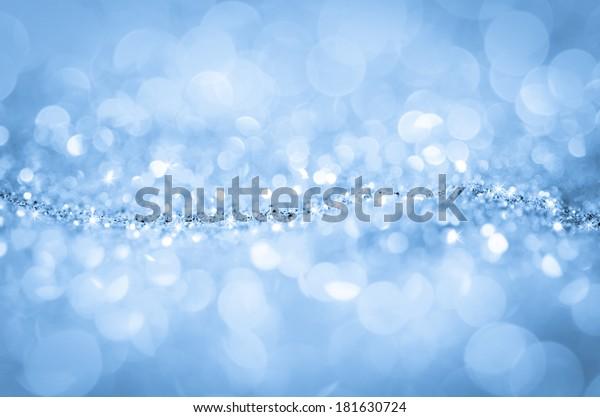 Bokeh Wallpaper Blue Diamond Abstract Background Stock Photo Edit