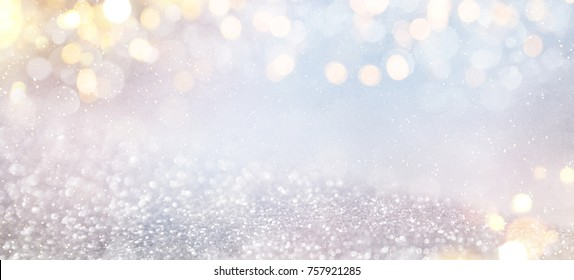 Bokeh winter background