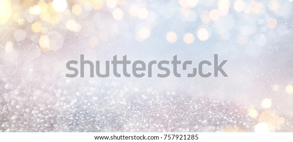 Bokeh winter background