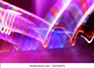 Bokeh'Colorful Abstrac light background.Beautiful Bokeh light