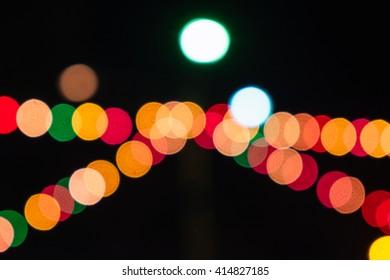 Bokel colorful night