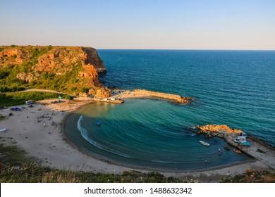 Bolata beach, near cape Kaliakra, Black Sea ,Bulgaria