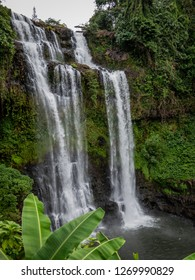 bolaven plateau, laos - 11 23, 2018: tad yuang waterfall