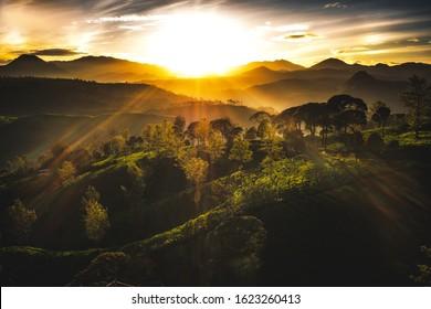 Bold Sunrise at cukul pangalengan Bandung West Java