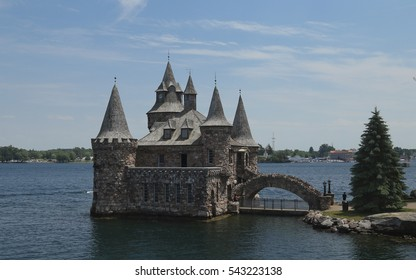 Boldt Castle, Thousand Islands, St. Lawrence Seaway, New York