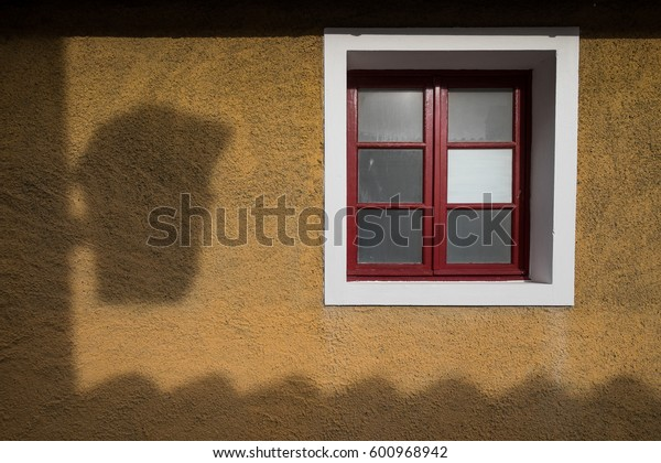 Bolgheri, Leghorn - Windows in San Guido near famous cypress avenue, Tuscany, Italy