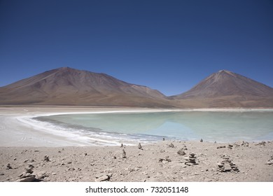 Bolivia. mountain lake