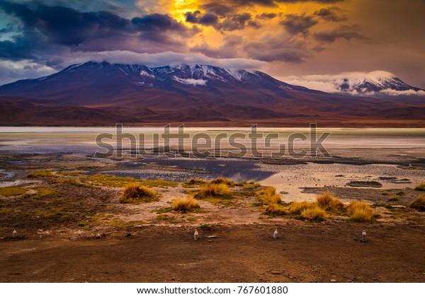 Bolivia Nature Landscape Nature Stock Image 767601880