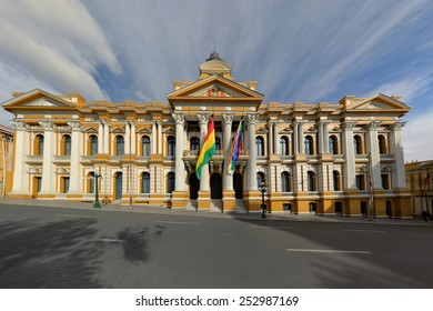 Bolivian Government Building, La Paz
