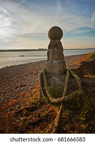 The bollard at Sunderland Point