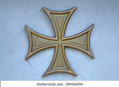 Bolnisi Cross Images Stock Photos Vectors Shutterstock The shirt is thought to be designed by georgian designer demna gvasalia, with the symbol being a bolnisi cross, a national symbol of georgia. https www shutterstock com image photo bolnisi gilded cross on blue wall 294164594