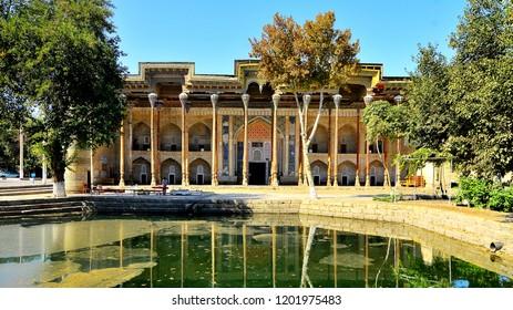 Bolo Haus mosque  in Bukhara, Uzbekistan