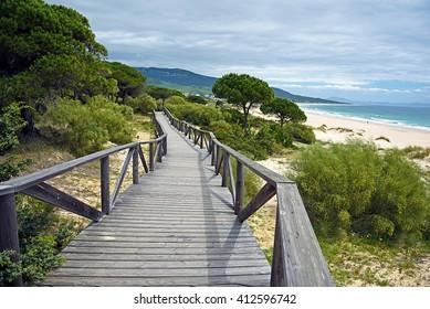 Bologna beach, Tarifa, Cadiz province