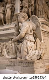 Bologna, Italy - 21 January 2020: Arca di San Domenico in the Basilica of San Domenico