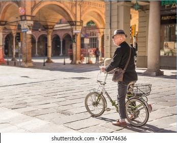 Bologna, Italy - April 22, 2017: