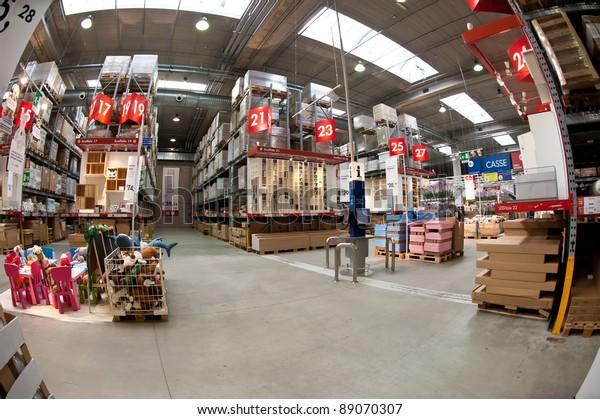 Bologna Italy July 16 Ikea Store Stock Photo (Edit Now ...