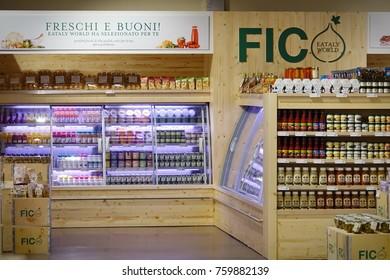 Bologna, Italy - November 21, 2017: FICO Eataly World, acronym for Fabbrica Italiana Contadina, a large showcase for Italian food companies.