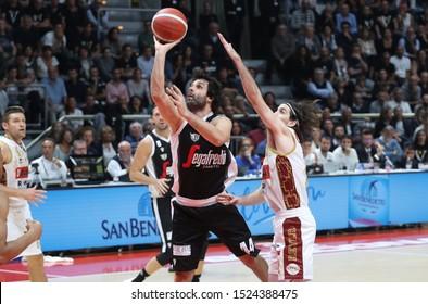 Bologna, Italy, October 06 2019 milos teodosic , virtus segafredo bologna,   during Segafredo Virtus Bologna Vs Umana Reyer Venezia  Italian Basketball A Serie  Championship
