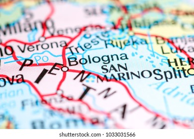 Map Of Italy Bologna.Bologna Map Images Stock Photos Vectors Shutterstock