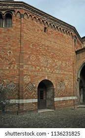Bologna, Italy, Saint Stephen  basilica complex interior example.