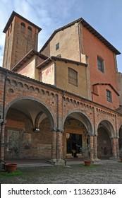 Bologna, Italy, Saint Stephen  basilica complex  Pilate's Backyard.