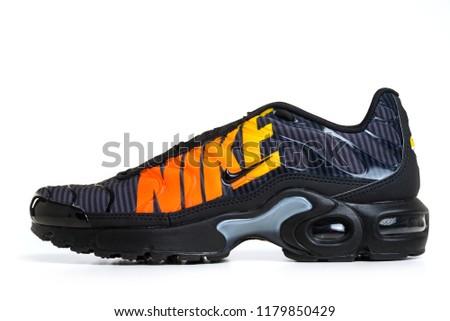 new styles e1089 ce954 BOLOGNA, ITALY - SEPTEMBER, 2018 Brand new Nike Air Max Plus TN sport