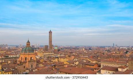 Bologna panoramic view