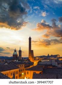 Bologna sunset