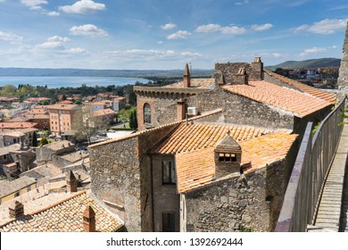Bolsena citadel and castle in Viterbo Province, Italy, Europe