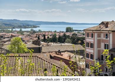 Bolsena citadel in Viterbo Province, Italy, Europe