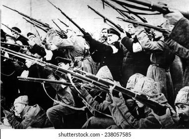 BOLSHEVIK REVOLUTION, 1917,