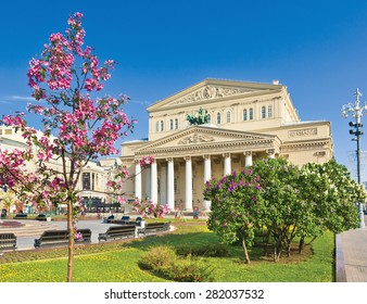 Bolshoi Theatre. Moscow, Russia